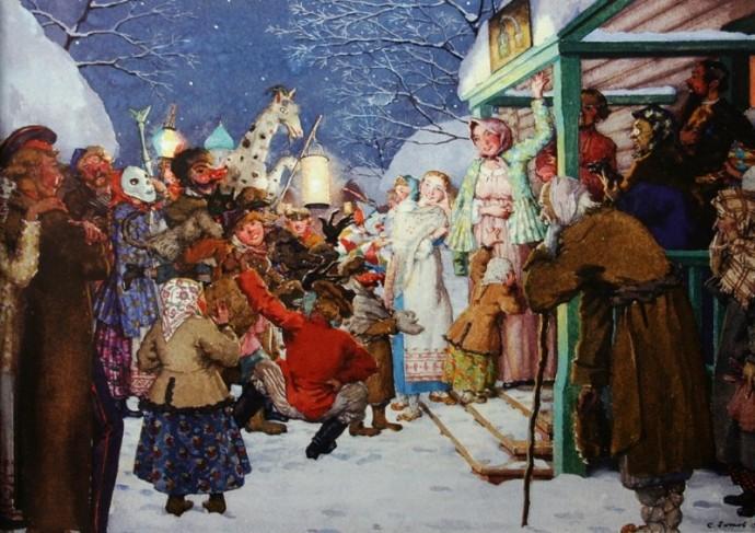 Обряды во время нового года