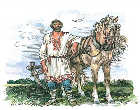 Микула Селянинович: пахарь-богатырь, былинный персонаж — Щи.ру