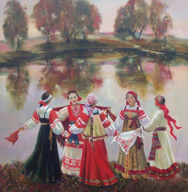 Доклад о русских народных песнях кратко 8094