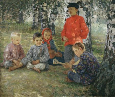Н.П. Богданов-Бельский Виртуоз