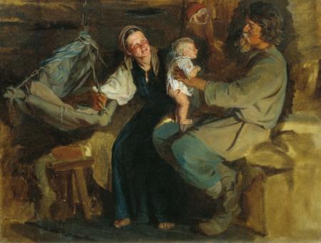 Лемох Карл Викентьевич Родительская радость
