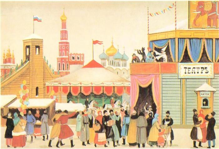 ярмарочный театр