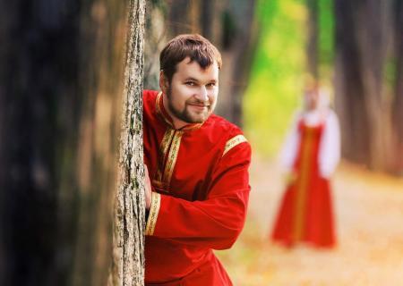русский народный наряд жениха